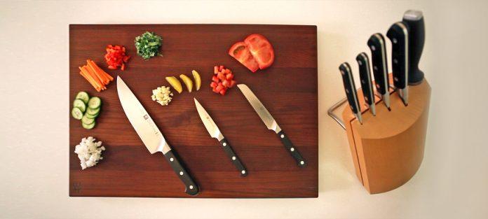 السكاكين الأساسية في المطبخ