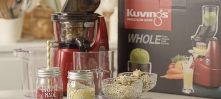 وصفات عصير، سموذي وآيس كريم في عصارة كوفينغز