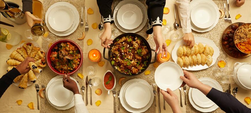 دليل عزومة رمضان