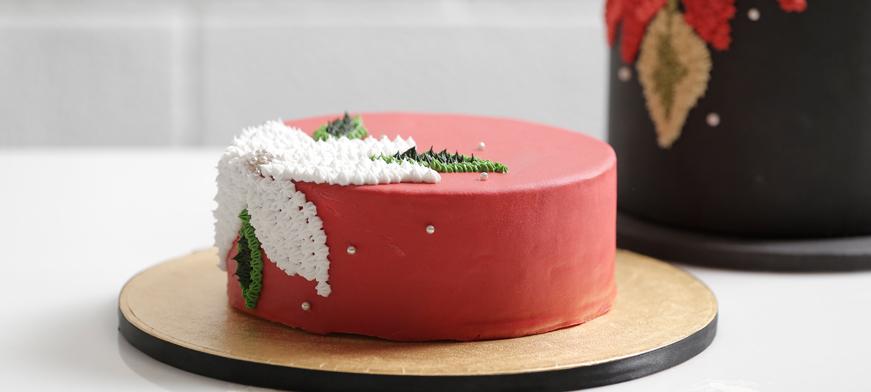 طريقة تزيين الكيك بكريمة التزيين