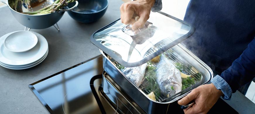 طريقة الطبخ على البخار