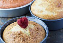 خطوات لخبز الكيك في أي قالب
