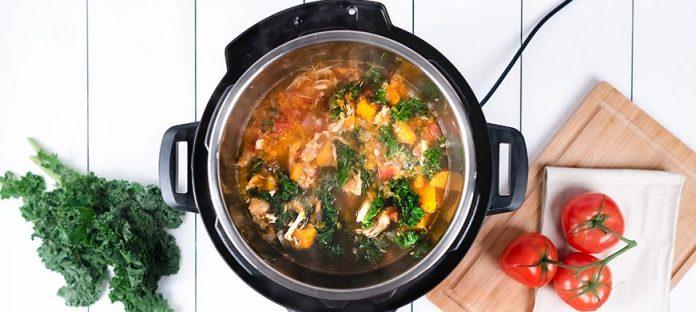 وجبات صحية باستخدام انستانت بوت