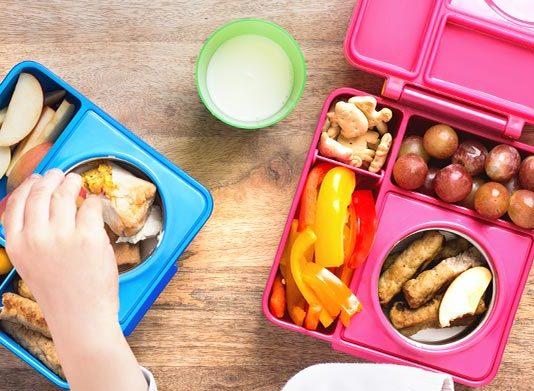 أكلات صحية للعودة إلى المدرسة