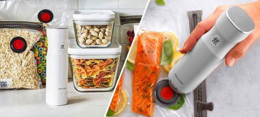 منتجات عملية لتخزين الطعام بذكاء